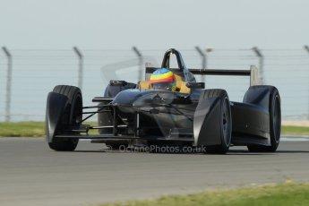 World © Octane Photographic Ltd. FIA Formula E testing Donington Park 10th July 2014. Spark-Renault SRT_01E. Dragon Racing – Mike Conway. Digital Ref : 1032CB1D4200