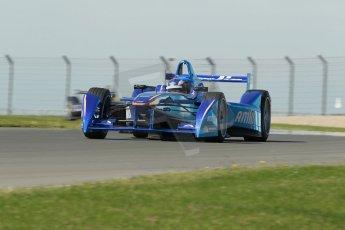 World © Octane Photographic Ltd. FIA Formula E testing Donington Park 10th July 2014. Spark-Renault SRT_01E. Amlin Aguri - Fabio Leimer. Digital Ref : 1032CB1D4224