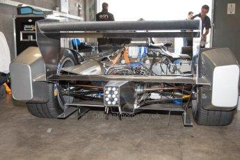 World © MountersPhotography/OctanePhotos.co.uk. FIA Formula E testing Donington Park 9th July 2014. Spark-Renault SRT_01E. Development car - Juan Manuel Lopez. Digital Ref : 1031JM1D0012