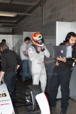World © MountersPhotography/OctanePhotos.co.uk. FIA Formula E testing Donington Park 9th July 2014. Spark-Renault SRT_01E. Andretti Autosport – Scott Speed. Digital Ref : 1031JM1D0050