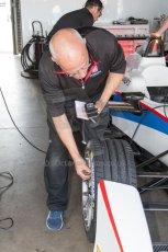 World © MountersPhotography/OctanePhotos.co.uk. FIA Formula E testing Donington Park 9th July 2014. Spark-Renault SRT_01E. Andretti Autosport – Scott Speed. Digital Ref : 1031JM1D0053