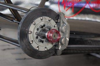 World © MountersPhotography/OctanePhotos.co.uk. FIA Formula E testing Donington Park 9th July 2014. Spark-Renault SRT_01E. Virgin Racing (Holly) - Jamie Alguersuari. Digital Ref : 1031JM1D0304