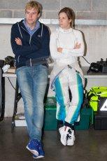 World © MountersPhotography/OctanePhotos.co.uk. FIA Formula E testing Donington Park 9th July 2014. Spark-Renault SRT_01E. TrulliGP – Michela Cerruti. Digital Ref : 1031JM1D9968