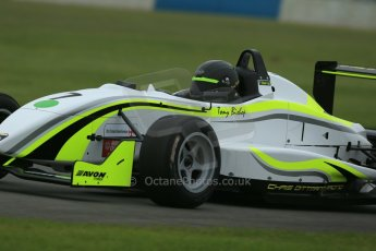 World © Octane Photographic Ltd. Donington Park General testing, Thursday 24th April 2014. F3 Cup – Chris Dittmann Racing – Tony Bishop, Dallara F306. Digital Ref : 0913lb1d8632