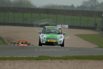 World © Octane Photographic Ltd. Donington Park General testing, Thursday 24th April 2014. Matt Hammond - Mini Cooper - Excelr8 Motorsport, Mini Challenge. Digital Ref : 0913lb1d8867