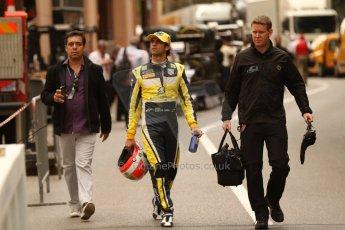 World © Octane Photographic Ltd. Thursday 22nd May 2014. GP2 Practice – Monaco, Monte Carlo. Felipe Nasr - Carlin. Digital Ref : 0959CB7D1948