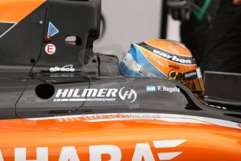 World © Octane Photographic Ltd. Thursday 22nd May 2014. GP2 Practice – Monaco, Monte Carlo. Facu Regalia - Hilmer Motorsport. Digital Ref: 0959CB7D2186