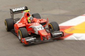 World © Octane Photographic Ltd. Thursday 22nd May 2014. GP2 Practice – Monaco, Monte Carlo. Andre Negrao - Arden International. Digital Ref : 0959CB7D2215