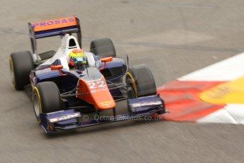 World © Octane Photographic Ltd. Thursday 22nd May 2014. GP2 Practice – Monaco, Monte Carlo. Sergio Canamasas - Trident. Digital Ref : 0959CB7D2217