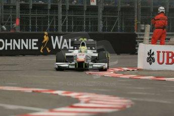 World © Octane Photographic Ltd. Thursday 22nd May 2014. GP2 Practice – Monaco, Monte Carlo. Kimiya Sato - Campos Racing. Digital Ref : 0959LB1D4112