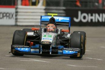 World © Octane Photographic Ltd. Thursday 22nd May 2014. GP2 Practice – Monaco, Monte Carlo. Facu Regalia - Hilmer Motorsport. Digital Ref: 0959LB1D4195