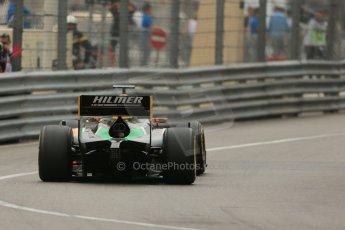 World © Octane Photographic Ltd. Thursday 22nd May 2014. GP2 Practice – Monaco, Monte Carlo. Daniel Abt - Hilmer Motorsport. Digital Ref: 0959LB1D4220