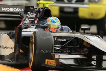 World © Octane Photographic Ltd. Thursday 22nd May 2014. GP2 Practice – Monaco, Monte Carlo. Artem Markelov - RT Russian Time. Digital Ref : 0959LB1D4264