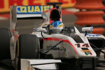 World © Octane Photographic Ltd. Thursday 22nd May 2014. GP2 Practice – Monaco, Monte Carlo. Adrian Quaife-Hobbs - Rapax. Digital Ref : 0959LB1D4575