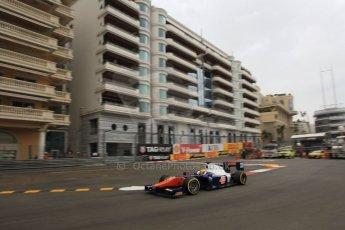 World © Octane Photographic Ltd. Thursday 22nd May 2014. GP2 Practice – Monaco, Monte Carlo. Sergio Canamasas - Trident. Digital Ref : 0959LB1D6478