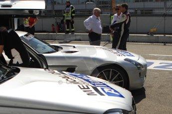 World © Octane Photographic Ltd. Saturday 19th July 2014. F1/GP2/GP3 safety and medical Cars (Mercedes AMG SLS and Mercedes C63 AMG Estate). Digital Ref: