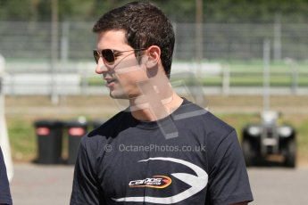 World © Octane Photographic Ltd. Thursday 17th July 2014. GP2 Paddock – German GP - Hockenheim. Alexander Rossi - Campos Racing. Digital Ref : 1034CB7D4398