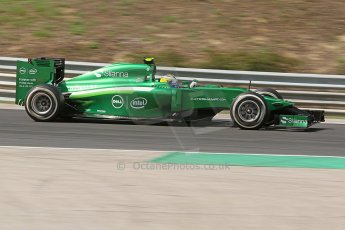 World © Octane Photographic Ltd. Friday 25th July 2014. Hungarian GP, Hungaroring - Budapest. - Formula 1 Practice 2. Caterham F1 Team CT05 – Marcus Ericsson. Digital Ref:  1057CB7D6811