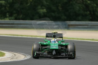 World © Octane Photographic Ltd. Saturday 26th July 2014. Hungarian GP, Hungaroring - Budapest. Practice 3. Caterham F1 Team CT05 – Marcus Ericsson. Digital Ref: 1064LB1D1790