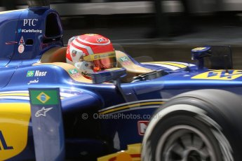 World © Octane Photographic Ltd. Friday 25th July 2014. GP2 Practice – Hungarian GP, Hungaroring - Budapest. Felipe Nasr - Carlin. Digital Ref :