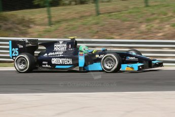 World © Octane Photographic Ltd. Friday 25th July 2014. GP2 Practice – Hungarian GP, Hungaroring - Budapest. Conor Daly - Venezuela GP Lazarus. Digital Ref :