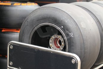 World © Octane Photographic Ltd. Tuesday 13th May 2014. Circuit de Catalunya - Spain - Formula 1 In-Season testing. Pirelli black experimental tyres. Digital Ref: