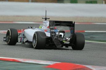 World © Octane Photographic Ltd. Tuesday 13th May 2014. Circuit de Catalunya - Spain - Formula 1 In-Season testing. Williams Martini Racing FW36 – Felipe Massa. Digital Ref: