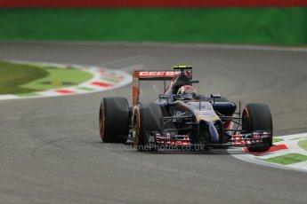 World © Octane Photographic Ltd. Friday 5th September 2014, Italian GP, Monza - Italy  - Formula 1 Practice 1. Scuderia Toro Rosso STR 9 – Daniil Kvyat. Digital Ref: 1094LB1D3201