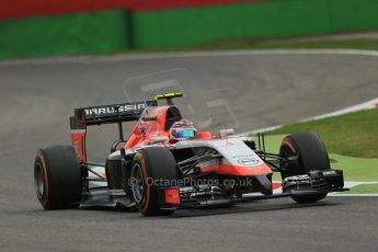 World © Octane Photographic Ltd. Friday 5th September 2014, Italian GP, Monza - Italy  - Formula 1 Practice 1. Marussia F1 Team MR03 – Max Chilton. Digital Ref: 1094LB1D3393