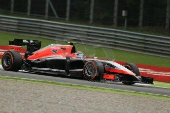 World © Octane Photographic Ltd. Friday 5th September 2014, Italian GP, Monza - Italy  - Formula 1 Practice 1. Marussia F1 Team MR03 – Max Chilton. Digital Ref: 1094LB1D3652