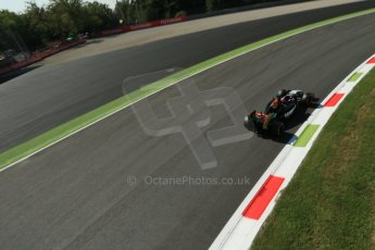 World © Octane Photographic Ltd. Saturday 6th September 2014, Italian GP, Monza - Italy. - Formula 1 Practice 3. Sahara Force India VJM07 – Nico Hulkenburg. Digital Ref : 1100LB1D5257