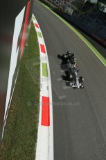 World © Octane Photographic Ltd. Saturday 6th September 2014, Italian GP, Monza - Italy. - Formula 1 Practice 3. Sauber C33 – Esteban Gutierrez. Digital Ref : 1100LB1D5472