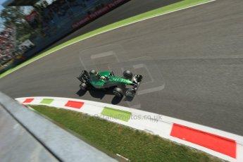 World © Octane Photographic Ltd. Saturday 6th September 2014, Italian GP, Monza - Italy. - Formula 1 Practice 3. Caterham F1 Team CT05 – Marcus Ericsson. Digital Ref: 1100LB1D5805