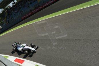 World © Octane Photographic Ltd. Saturday 6th September 2014, Italian GP, Monza - Italy. - Formula 1 Practice 3. Williams Martini Racing FW36 – Valtteri Bottas. Digital Ref: 1100LB1D5880