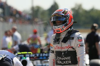 World © Octane Photographic Ltd. Saturday 6th September 2014, Italian GP, Monza - Italy. - Formula 1 Qualifying Parc Ferme. McLaren Mercedes MP4/29 – Kevin Magnussen. Digital Ref: 1106LB1D6292