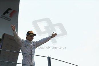 World © Octane Photographic Ltd. Sunday 7th September 2014, Italian GP, Monza - Italy. - Formula 1 Podium. Williams Martini Racing FW36 – Felipe Massa (3rd). Digital Ref: 1113LB1D8440