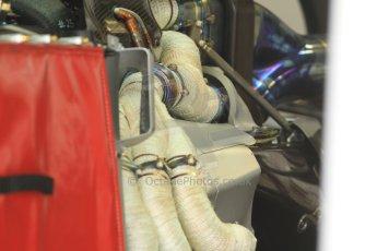 World © Octane Photographic Ltd. Friday 5th September 2014, Italian GP, Monza - Italy  - Formula 1 Practice 1. Sauber C33 exhaust cladding. Digital Ref: 1096CB7D7304