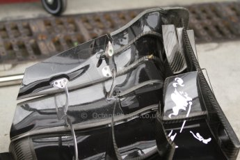 World © Octane Photographic Ltd. Friday 5th September 2014, Italian GP, Monza - Italy - Formula 1 Practice 1. McLaren Mercedes MP4/29 front wing. Digital Ref: 1096CB7D8857
