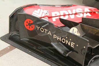 World © Octane Photographic Ltd. Friday 5th September 2014, Italian GP,Monza - Italy - Formula 1 Practice 1. Lotus F1 Team E22 front wing end plate. Digital Ref: 1096CB7D8866