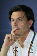 World © Octane Photographic Ltd. Friday 5th September 2014, Italian GP, Monza. Toto Wolff -Mercedes Executive Director. Digital Ref: