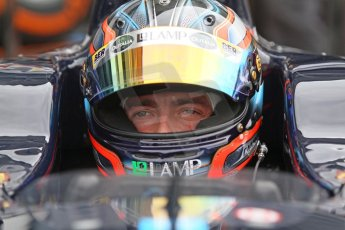 World © Octane Photographic Ltd. Friday Friday 5th September 2014. GP2 Practice – Italian GP - Monza, Italy. Sergio Campana - Venezuela GP Lazarus. Digital Ref : 1095CB7D8987