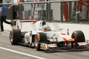 World © Octane Photographic Ltd. Friday Friday 5th September 2014. GP2 Practice – Italian GP - Monza, Italy. Arthur Pic - Campos Racing. Digital Ref : 1095CB7D9105