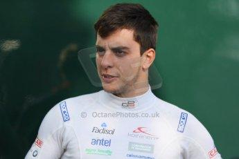 World © Octane Photographic Ltd. Saturday 6th September 2014. GP3 Qualifying Session, Italian GP, Monza - Italy. Santiago Urrutia - Koiranen GP. Digital Ref : 1103CB7D9654