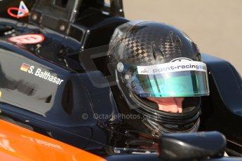 World © Octane Photographic Ltd. Saturday 6th September 2014. GP3 Qualifying Session, Italian GP, Monza - Italy. Sebastian Balthasar - Hilmer Motorsport. Digital Ref : 1103CB7D9847