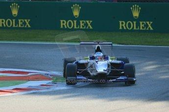 World © Octane Photographic Ltd. Saturday 6th September 2014. GP3 Race 1, Italian GP, Monza - Italy. Carmen Jorda - Koiranen GP. Digital Ref : 1108LB1D6471