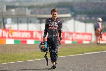 World © Octane Photographic Ltd. Friday 3rd October 2014, Japanese Grand Prix - Suzuka. - Formula 1 Practice 2. Scuderia Toro Rosso STR9 – Jean-Eric Vergne. Digital Ref: