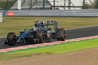 World © Octane Photographic Ltd. Friday 3rd October 2014, Japanese Grand Prix - Suzuka. - Formula 1 Practice 2. McLaren Mercedes MP4/29 – Kevin Magnussen. Digital Ref: