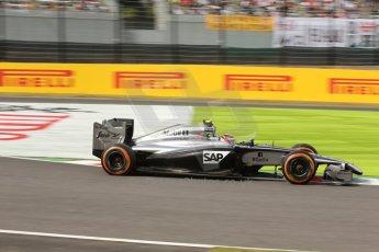 World © Octane Photographic Ltd. Saturday 4th October 2014, Japanese Grand Prix - Suzuka. - Formula 1 Qualifying. McLaren Mercedes MP4/29 – Kevin Magnussen. Digital Ref: