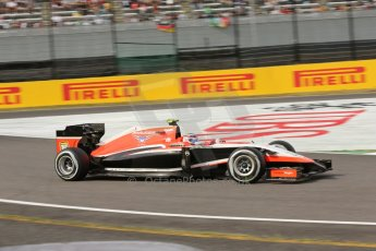 World © Octane Photographic Ltd. Saturday 4th October 2014, Japanese Grand Prix - Suzuka. - Formula 1 Qualifying. Marussia F1 Team MR03 – Max Chilton. Digital Ref: