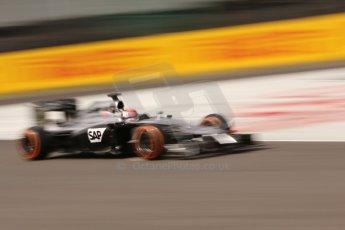 World © Octane Photographic Ltd. Saturday 4th October 2014, Japanese Grand Prix - Suzuka. - Formula 1 Qualifying. McLaren Mercedes MP4/29 - Jenson Button. Digital Ref:
